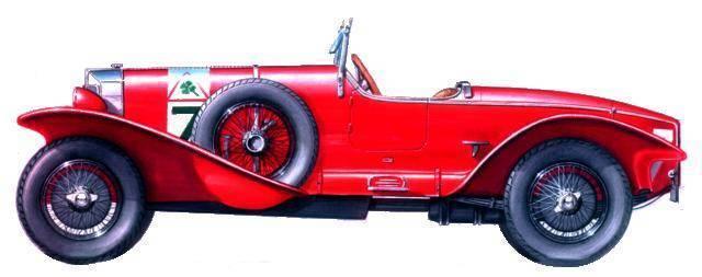 Alfa Romeo Super Sport Zagato bialbero
