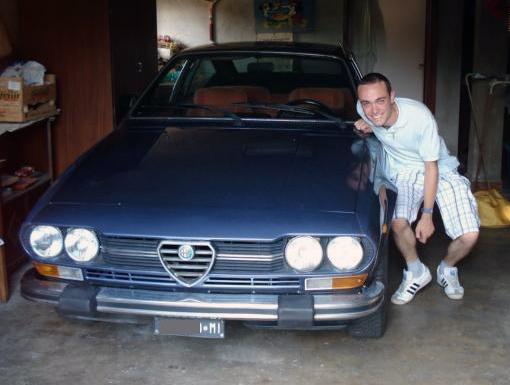 Damiano Sgarella benvenuta alfetta gtv bialbero.it