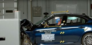 Giulia record crash test bialbero.it