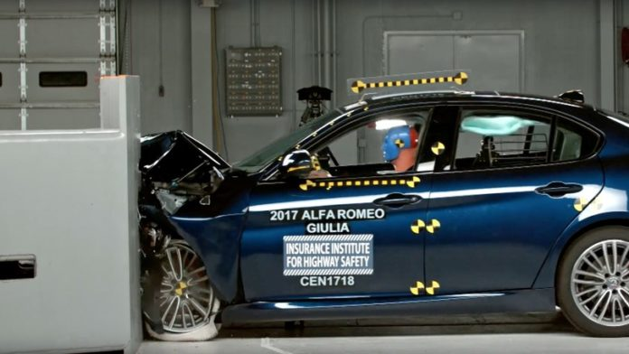 Giulia record crash test bialbero.it